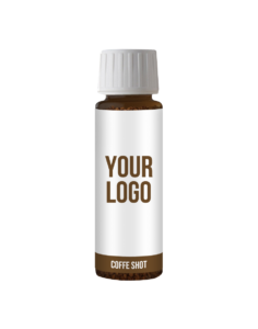 Promotion drink Branded coffee shots