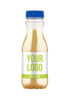 Promo own label juice bottles - Apple Juice 330 ml