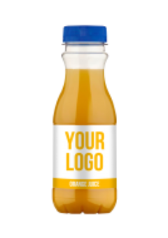 Promo own label juice bottles - Orange Juice 330 ml