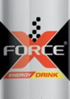 Promo X-Force energy drink