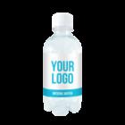 Custom label spring water