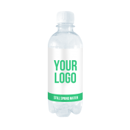 Custom label spring water - 330ml