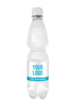 Promo custom label spring water - 500 ml