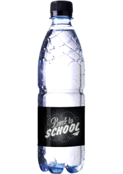 Promo mineral water 0,5l – Pfand water bottle