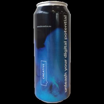 Promo energetický nápoj 500 ml - úplný potisk