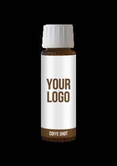 Propagační kávový extrakt (coffee shot)