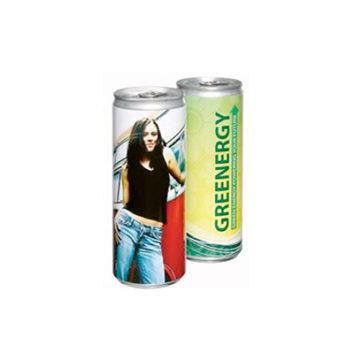 Promo energetický nápoj s logem