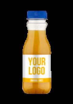 Promo juice s vlastní etiketou - pomeranč