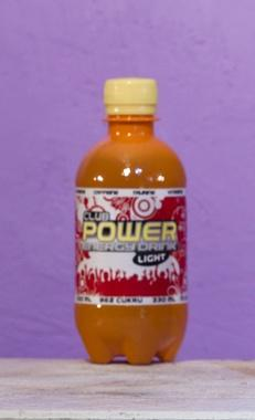 Promo power energy drink PET bottle