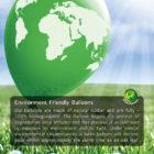 Biodegradability balloons, eco balloons