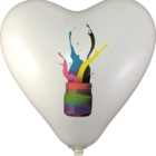 balonek reklamni srdce, heard promo balloon